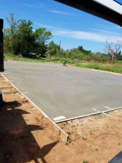 cement pad
